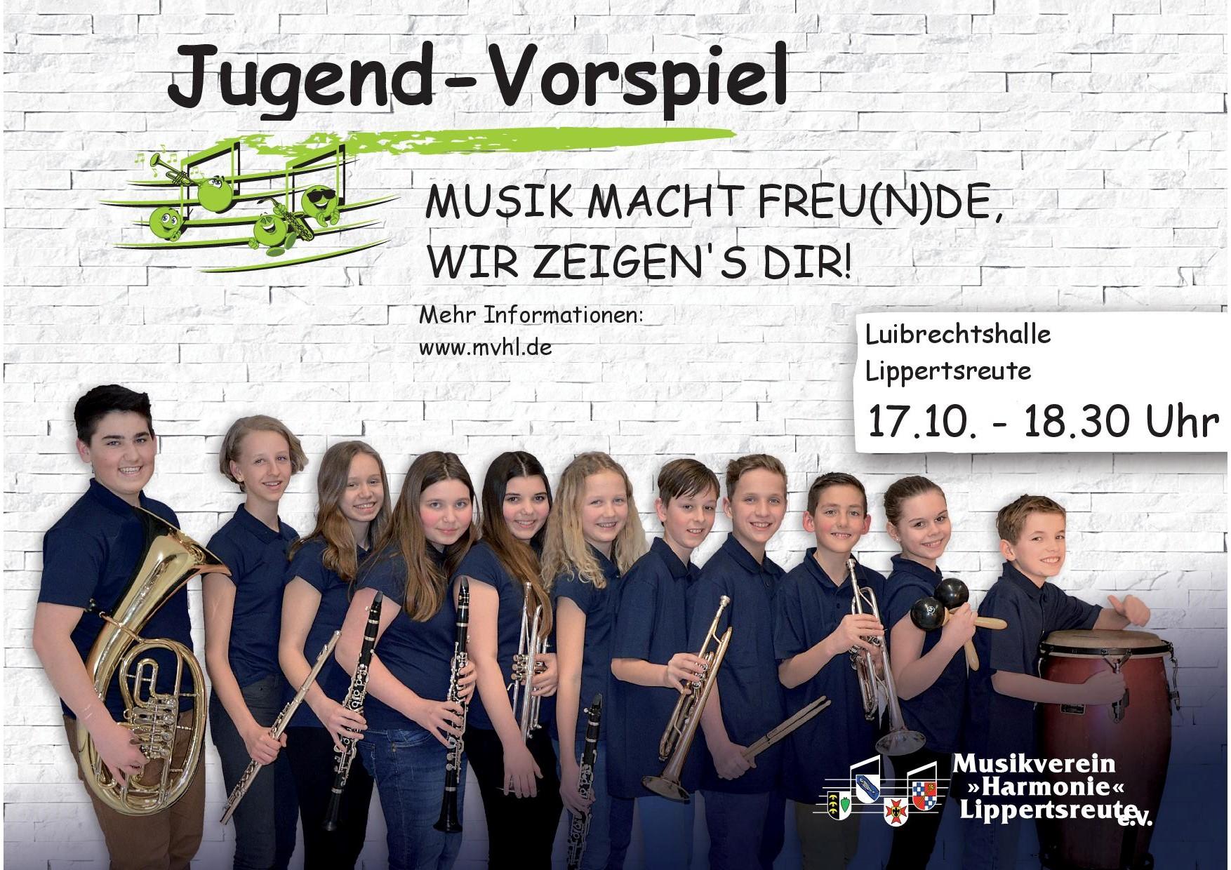 Plakat Herbstvorspiel 2018