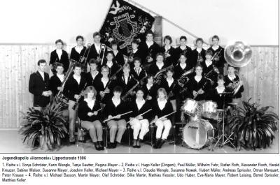 10 Jahre Jugendkapelle und gesicherter Nachwuchs