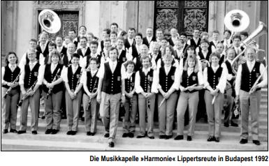 Musikkapelle reist nach Budapest
