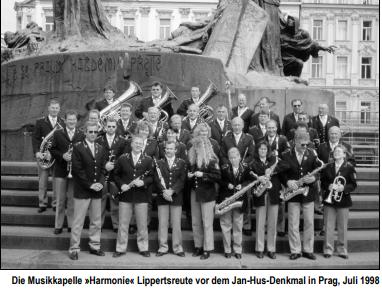 Musikkapelle reist nach Prag