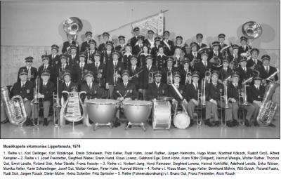 Musikkapelle 1976